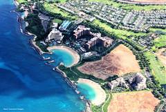 Aerial View of Paradise Cove,Lanikuhonua Lagoon, Kohola & Honu Lagoons & 3 Holiday Resorts at Ko Olina, Oahu, Hawaii, USA (Black Diamond Images) Tags: honoluluinternationalairport honolulu hawaii usa aerialphoto aerialphotograph aerialphotography aerialphotographs aerialphotos westernusatrip2018 2018 canond60 1770 sigma1770 fourseasonsresortoahuatkoolina fourseasonsresort oahuatkoolina resort aulani adisneyresortspa disneyresort koolinabeachvillasoceantower koolinabeachvillas oceantower koolina oahu highriseresorts highrisebuildings koholalagoon honulagoon koolinalagoon paradisecove publicbeach hawaiianbeaches usabeaches beach beachlandscapes lanikuhonualagoon lagoons lagoon kapolei fourseasonskapolei notes 21staugust2018