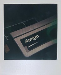 Oh yes you are #Amigo - got given a couple of Polaroid Camera including this beauty :) (jskaba) Tags: polaroid600 dentistscamera closeup macro polaroid amigo