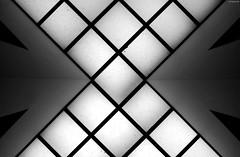 Hombroich I (KnutAusKassel) Tags: bw blackandwhite blackwhite nb noirblanc monochrome black white schwarz weiss blanc noire blanco negro schwarzweiss grey gray grau architektur architecture building gebäude abstrakt abstract lines linien