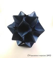 Galaxy (mancinerie) Tags: origami modularorigami paperfolding papiroflexia papierfalten francescomancini mancinerie geometry polyhedra carta