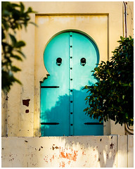 Turquoise Door (nickyt739) Tags: turquoise door arabic art colour colourful tunis tunisia mystery mysterious angles nikon dslr d750 fx amateur traveller flickrsbest