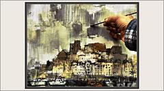 PEÑISCOLA-PINTAR-PINTANDO-PINTURA-PAISAJES-CASTILLO-CASTELL-PAPA LUNA-PUEBLOS-MAESTRAZGO-HISTORIA-TEMPLE-FOTOS-PINTURAS-ARTISTA-PINTOR-ERNEST DESCALS (Ernest Descals) Tags: peñiscola castillo castell castle castillos temple templario templarios templars cielo sky celeste celestial historia history arquitectura construcciones defensivas mar mediterraneo murallas iglesias campanarios maestrat maestrazgo castellon castello españa spain paisatge paisatges conexion tejados casas puerto port harbour landscaping landscape fotos paint pictures paisajes paisaje pintando pintar pintant painting pincel brush paintings painter painters art arte artwork pueblos villages pobles calidades plasticas espectaulo paisajista pintor pintores pintors plasticos piedras ernestdescals artistes artistas artist working papaluna lugares