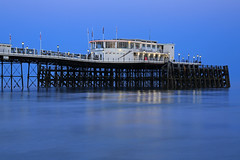 2018_05_06_0239 (EJ Bergin) Tags: sussex westsussex landscape worthing sunset beach sea seaside worthingpier seafront bluehour