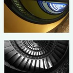 Pittsburgh Pennsylvania - The Bank Tower aka  People's Saving Bank  - Circular Bronze Staircase thumbnail