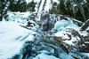 Moses Falls March 2019 (blueskybrave) Tags: waterfall frozen forest winter firstlight ice moutain hike revelstoke