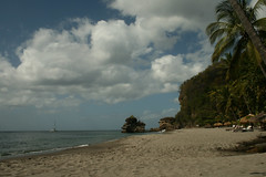 Anse Mamin - St Lucia (h_savill) Tags: 2019 february feb holiday travel vacation tourist trip explore worldwide st lucia caribbean antilles windward isle soufriere piton view landscape beach sea water marine anse chastanet ansechastanet sand ocean stlucia ansemamin