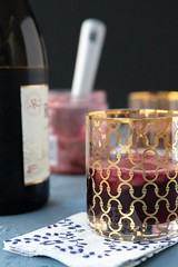 Lambrusco Raspberry Surprise (DaydreamerDesserts) Tags: lambrusco redwine sparklingwine raspberry sherbert meyerlemon sourmix cocktail nye