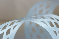ribbon (Elisabeth patchwork) Tags: macro ribbon band white textile sigma sigmasdquattro 105mm sigma105mm lines arch whiteonwhite whitebalance