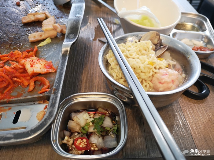 【台北萬華】玖佰號 烤豬五花 火鍋│超平價200元韓國烤肉│飲料喝到飽 @魚樂分享誌
