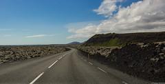 Nesvegur (425), Iceland (tomst.photography) Tags: iceland road roadtrip vulcanoland hills mountains hiking street bluesky landscape travel travelphotography islanda island 425 road425 grindavik nesvegur drive sceniclandspace nature stone tomst