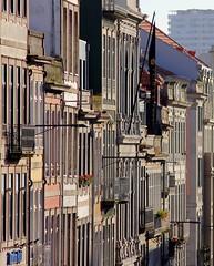 Porto front house windows balconies (patrick555666751 THANKS FOR 6 000 000 VIEWS) Tags: porto front house windows balconies oporto portugal europe europa cidade invicta atlantic atlantique atlantico patrick55566675 window fenetre finestre janela ventana fachada facade balcon balkon balcony portus