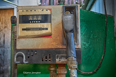 Out of service...we're closed! (Fabke.be) Tags: urbex old abandoned abandonned fuel fuelpump pump explore inexplore urban exploring rust roest green canon canon7d canon7dmkii canon175528 total decay exploration abandonment sad danger melancholy ruin vintage dirty broken past derelict somber aged history expedition