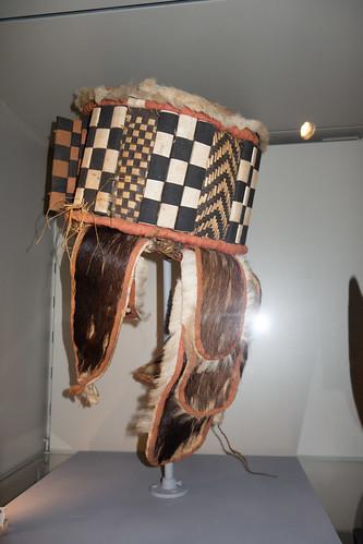 Checkered Mende mask