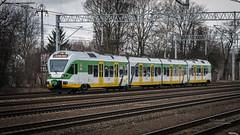ER75-007A Flirt (Rafał Jędrasiak) Tags: kolejemazowieckie 2019 warszawa warsaw poland polska track train tree a6500 sony emount 70300 er75007a flirt