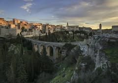 il ponte (Paolo Dell'Angelo (JourneyToItaly)) Tags: gravinainpuglia provinciadibari puglia italia landscape sunset bridge southernitaly apulia architecture