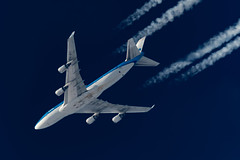 KLM Boeing 747-406(M) PH-BFI (Thames Air) Tags: klm boeing 747406m phbfi contrails contrailspotting