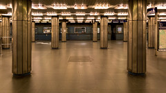 2015' flashbacks (The eclectic Oneironaut) Tags: 2015 6d viajes budapest canon eos hungary hungria metro subway symmetry