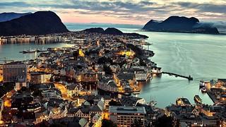 Norway - Alesund - Panorama-evening
