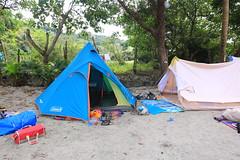 IMG_7357 (諾雅爾菲) Tags: taiwan camping 台灣 墾丁 露營 香蕉灣原始林露營區 熊帳 coleman 印地安帳