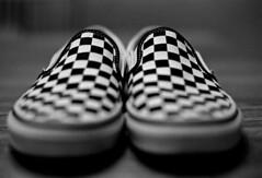 Vans (Paul Lundberg) Tags: nikonfe2 nikkor50mmf14ais shoes vans kodaktrix400 kodakd76 plustekopticfilm7300 film 35mm
