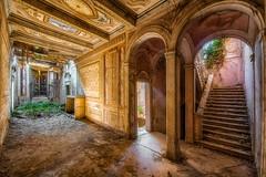 Beautiful tragedy (Photonirik) Tags: vert urbex decay urban exploration oblivion abandoned abandonné oubli forgotten ue dust