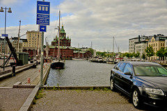 A9726HELSc (preacher43) Tags: helsinki finland building architecture sky clouds history port uspenski cathedral water car