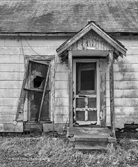 Abandoned and falling apart (Kool Cats Photography over 11 Million Views) Tags: abandoned blackandwhite bw highcontrast torn neglected windows oklahoma old outdoor abstract architecture artistic art abstractart yabbadabbadoo tones backcountry backroads