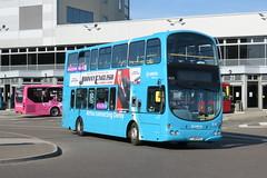 10634 20180929 Arriva Midlands FJ58 KXX (CWG43) Tags: bus uk arrivamidlands volvo b9tl wright fj58kxx