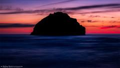 Face Rock blues (Madonna Martin Photography) Tags: facerock bandon oregon sunset rock landscape scenic ocean water
