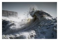 'Brace' - Newhaven Harbour / February 9th (Edd Allen) Tags: newhaven harbour newhavenharbour sea seaside coast coastal waves storm rain clouds moody atmosphere atmopsheric ethereal serene bucolic nikond810 nikkor70200mm england uk southcoast southeast eastsussex landscape seascape stormerik stormeric