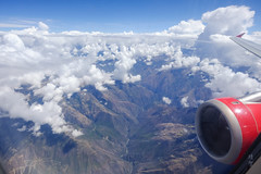 Valley in the Andes (A. Wee) Tags: peru 秘鲁 秘鲁哥伦比亚航空 avianca flying 飞行 aerial view cloud mountain peruvian andes