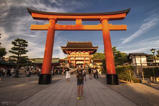 Fushimi Inari Taisha, Torii Gate - Kyoto (Japan)