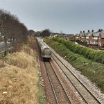 Seen here is the back view of the wagons on the colas class 70 passing Sunderland thumbnail