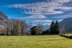 Pyrénées_0962 (Luc Barré) Tags: france pyrénées neige snow montagne mountain nuage nuages sky ciel shadow shadows