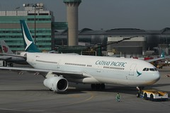 Cathay Pacific (So Cal Metro) Tags: airline airliner airplane aircraft plane jet aviation airport hongkong hkg bhlo cathaypacific airbus a330