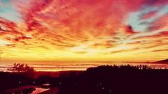 Amanecer en Laguna Brasil (Miradortigre) Tags: brasil brazil praia amanecer landscape playa sol sun sunrise paisaje red rojo