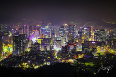 Seoul City Scape. Seoul's nightlife in South Korea. Korea night view in the business location. Seoul, Korea - November 16, 2018 (pomp_jaideaw) Tags: seoul korea city night south skyline tower landscape downtown twilight namsan business travel view urban scene asia mountain place destination cityscape district korean location metropolitan architecture scape dark asian dusk aerial river han scenic landmark scenery evening bridge building metropolis background sky water entertainment financial center capital buildings