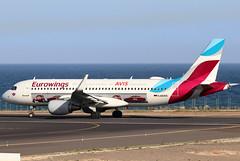 D-AEWS_04 (GH@BHD) Tags: daews airbus a320 a320200 a320214 eurowings ewg ew avis logojet specialcolours ace gcrr arrecifeairport arrecife lanzarote aircraft aviation airliner
