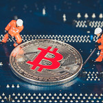 Two miners with silver Bitcoin thumbnail