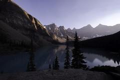 Moraine Lake (michael.mcfadden18) Tags: roadtrip landscape mountains lake alpinelake canada alberta banffnationalpark morainelake fujifilm
