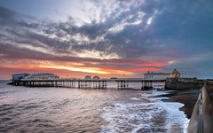 Sunrise over Cromer Pier (dpowley65) Tags: clouds sky sunrise norfolkcoast norfolk cromerpier cromer