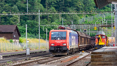 SBB Re 474 016 Amsteg-Silenen 07 July 2015 (1) (BaggieWeave) Tags: switzerland swiss swisstrains swissrailways gotthardrailway gotthard gotthardbahn sbb cff ffs re474 amsteg silenen