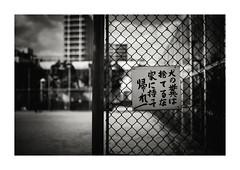 bring back home (gol-G) Tags: fujifilm xpro2 fujifilmxpro2 nokton 35mm f12 voigtlandernokton35mmf12aspherical digital bw japan kobe