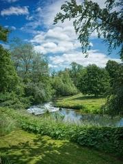 R0102256 aur - on1 (douglasjarvis995) Tags: bracketed aurorahdr on1photoraw on1 water green garden grass tree river derbyshire foolow landscape haddon hall ricoh grii