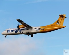 Aurigny ATR72-500 G-LERE landing at LGW/EGKK (AviationEagle32) Tags: london londongatwick londongatwickairport lgw egkk gatwick gatwickairport unitedkingdom uk airport aircraft airplanes apron aviation aeroplanes avp aviationphotography avgeek aviationlovers aviationgeek aeroplane airplane planespotting planes plane flying flickraviation flight vehicle tarmac aurigny atr atr72 atr72500 atr726 atr725 glere turboprop