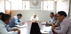 Trabaja nuestro coordinador con el Presidente municipal de San Marcial Ozolotepec, Ramiro López Hernández y el Diputado Federal, Daniel Gutiérrez Gutiérrez para generar mayor capacitación en materia de ProtecciónCivil en