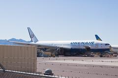 ex-Orenair (Rossiya Airlines) Boeing 777-200ER VQ-BNU (jbp274) Tags: gyr kgyr airport airplanes boneyard wfu stored boeing 777 scrapped