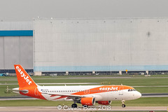 """Easyjet G-EZTH A320-200 (IMG_2410) (Cameron Burns) Tags: easyjet u2 gezth airbus airbus320 airbus320200 airbus322 a320 a320200 a322 vce venice marcopolo marco polo italy venezia orange white amsterdam schiphol airport amsterdamschipholairport """"amsterdam schiphol"""" ams eham airfield aviation aerospace airliner aeroplane aircraft airplane plane canoneos80d canoneos eos80d canon80d canon eos 80d netherlands holland dutch haarlemmermeer """"luchthaven luchthaven europe action"""