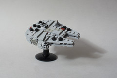 Mini Millennium Falcon (Kit Bricksto) Tags: lego star wars moc model mini millennium falcon bricks rebellion han solo freighter