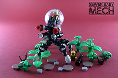 Sewer Baby Mech (modestolus) Tags: lego legobuilding legobrick legomoc legonerd legominifig tlm2 thelegomovie2 sewerbabies babymech mechmonday roguebricks moc minifig minifigs mocs commentingtuesday sewer baby rb wwwroguebricksde roguebricksrloc roguebrickslug legotoy toy afol bricktoy brick